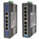 5/8-Port Industrial Gigabit Ethernet Switch (with Surge Protection)