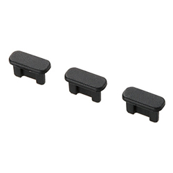microB Connector Cap Set for Smartphones, P-CAAMB Series