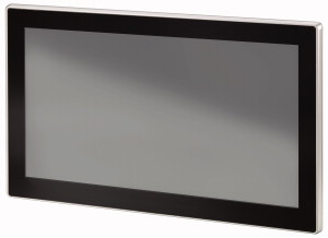 Bedienpanel, 24VDC, 15,6-Zoll-PCT-Widescreen Display, 1366x768 Pixel, 2xEthernet, 1xRS232, 1xRS485, 1xCAN, 1xSD, SPS-Funktion nachrüstbar