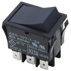 Locker Switch with Reset Function A8G