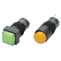 Push Button Switch (Illumination/Non-Illumination) (Round Body Shape ⌀12) A3C, Optional Part
