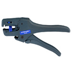 Cable Cutter and Wire Stripping Tool with Automatic Adjustment Functionality