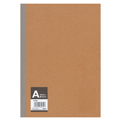 Plain Cover Sheet, Notebook, A Ruled