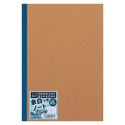 Notebook with Margin Blue