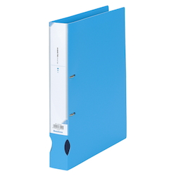 D-Ring File A4 Wide Sky Blue
