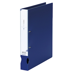D-Ring File A4 Wide Dark Blue