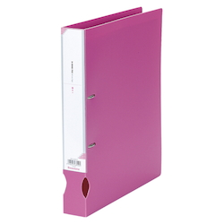 D-Ring File A4 Wide Pink