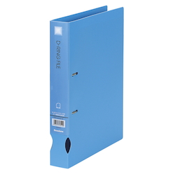 D-Ring File A4 Wide Blue