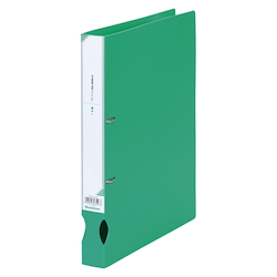D-Ring File A4 Vertical Type (34 mm Wide) Light Green