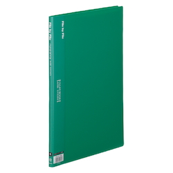 Clear Book, A4, 10P, Green