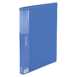Ring Binder, A4 Size (30 Holes) Blue RB-A4-B