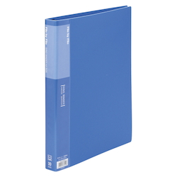 Ring Binder, A4 Size (30 Holes) Blue RB-A4W-B