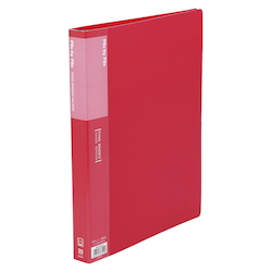 Ring Binder, A4 Size (30 Holes) Red RB-A4W-R