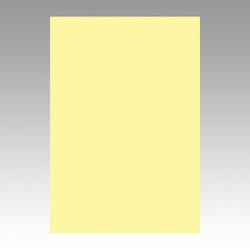 Color Drawing Paper, New Color Octavo Format Light Yellow
