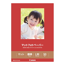 Matte Photo Paper L Size MP-101 L