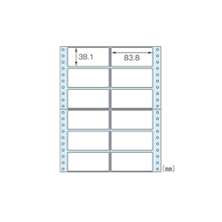 Tack Seal Specification: 10 X 8 (Vertical 254 X Horizontal 203 mm) Pieces per Sheet: 12 Pieces (2 X 6) SB138