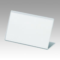 L-Type Acrylic Card Stand