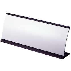 R Type Card Stand Black