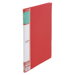 U GREEN Clear File, Reasonable A4 10P, Red
