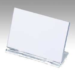 UC Card Stand, Square W80 X H55 mm