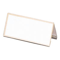 Model V Card Stand, Acrylic Outer Dimensions: Width 120 x Height 58 mm