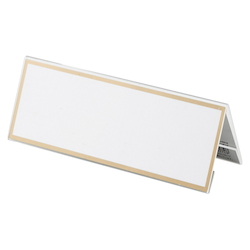 Acrylic Card Stand V Type, Transparent Outer Dimensions: Width 180 x Height 68 mm