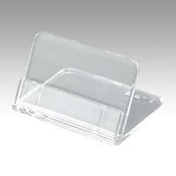 Methacrylic L Type Tiny Card Stand, Includes 5 pcs Used Outer Diameter: Width 35 x Depth 30 x Height 22 mm