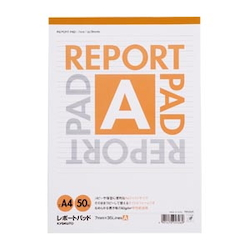 Report Pad Standard A Line (7 mm) A4 Vertical Number of Inner Pages 50 Sheets