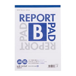 Report Pad Standard B Line (6 mm) A4 Vertical Number of Inner Pages 50 Sheets