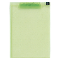 AQUA DROPs Clipboard A4E Type 6 Yellow-Green