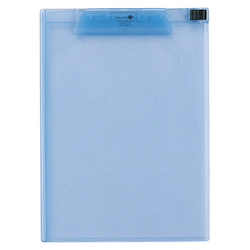 AQUA DROPs Clipboard A4E Type 8 Blue