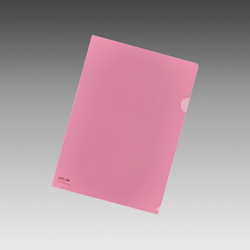 Color Clear Holder A4 Crystal Pink, Vertical 310 X Horizontal 220 mm