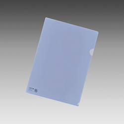 Color Clear Holder A4 Crystal Blue