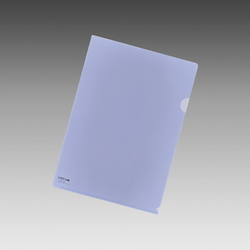 Color Clear Holder A4 Crystal Blue, Vertical 310 X Horizontal 220 mm