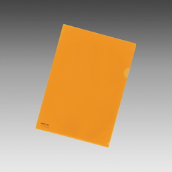 Color Clear Holder A4 Orange, Vertical 310 X Horizontal 220 mm