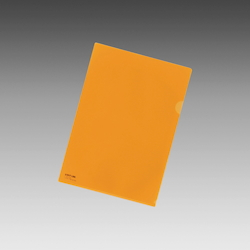Color Clear Holder B5 Orange