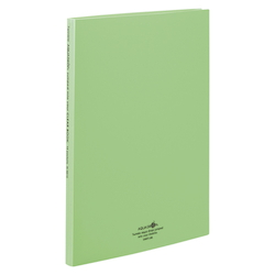 Clear Book, Pocket Interchangeable Type, A4, Yellow Green