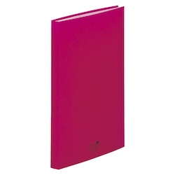 Clear Book, Red