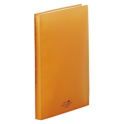 Clear Book, Orange
