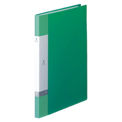 Request / Clear Book, A4 Size Portrait, (20 Pockets), Green