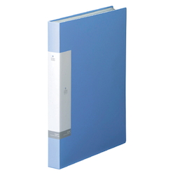 Request / Clear Book, A4 Size Portrait, (40 Pockets), Light Blue