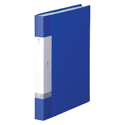 Request / Clear Book, A4 Size Portrait, (40 Pockets), Blue