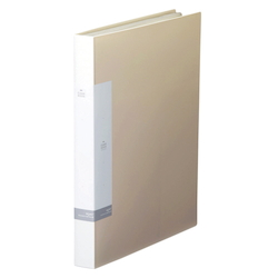 Request / Clear Book, A4 Size Portrait, (40 Pockets), White