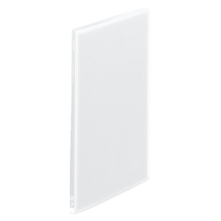 Request / Transparent Clear Book, A4 Size Portrait, (20 Pockets), Clear