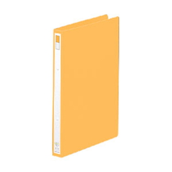 Ring File A4 Portrait Type (Spine Width 27 mm) Orange