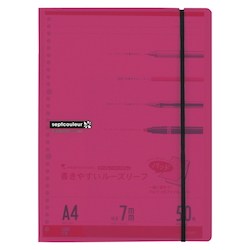 Sept Couleur A4 Pad Holder Pink