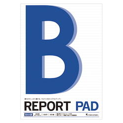 Report Pad B5 Scale Included 6 mm Line