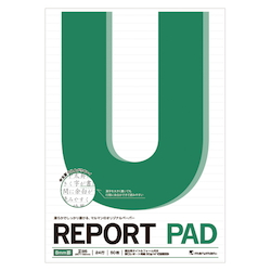Report Pad B5 Scale Included 8 mm Line