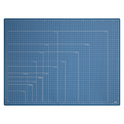 Folding Cutting Mat A2 Dark Blue