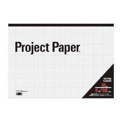 Project Paper A3 5 mm, Graph Paper